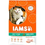 Iams Cat Food ProActive Health Hairball Rich in Succulent Roast Chicken 10 kg