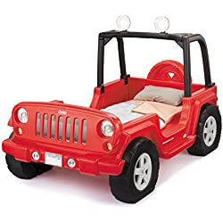 Little Tikes Jeep Wrangler Toddler To Twin Bed (Red)