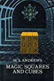 Magic Squares and Cubes (0486206580) by William Symes Andrews
