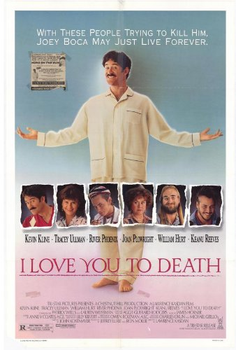 Tracey Ullman I Love You to Death Poster 27x40 Kevin Kline Tracey Ullman