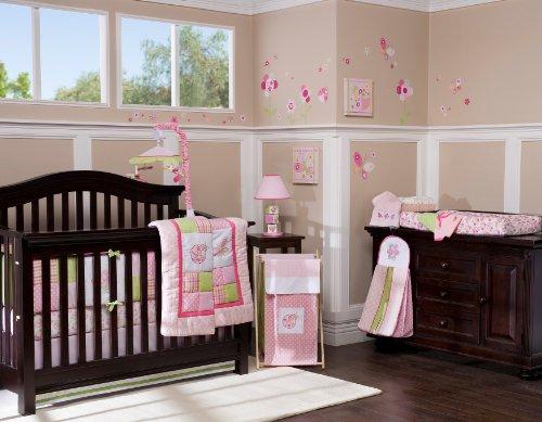 Kids Line Mosaic Garden 6-Piece Crib Set