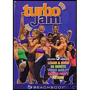 Turbo Jam Beachbody 5 Rockin' Workouts