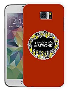 """Humor Gang To Infinity And Beyond Quote Printed Designer Mobile Back Cover For """"Samsung Galaxy Note 5"""" (3D, Matte, Premium Quality Snap On Case)"""