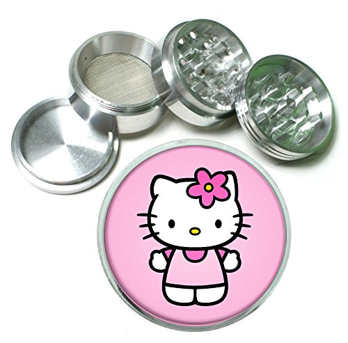 Hello-Kitty-4-Pc-Aluminum-Tobacco-Spice-Herb-Grinder