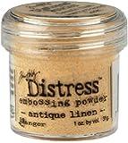 Ranger 1 Ounce Distress Embossing Powder, Antique Linen