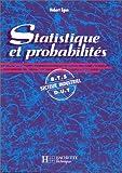 echange, troc Hubert Egon - Statistique et probabilités. BTS-DUT, secteur industriel