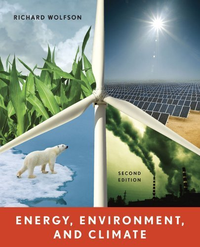 Energy environment and climate wolfson