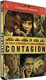 echange, troc Contagion - Combo Blu-ray + DVD + copie digitale (boîtier métal) [Blu-ray]