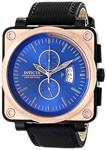 Invicta Men'S 16165 Corduba Analog Display Japanese Quartz Black Watch