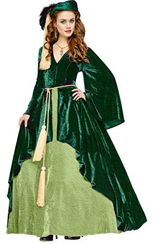 Green Scarlett O'Hara Costume