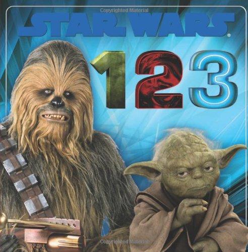 Star Wars 1, 2, 3 (Star Wars Board Books)