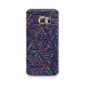 Ebby Rectangular Threads Premium Printed Case For Samsung S6 Edge Plus