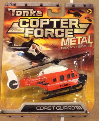 Tonka Metal Diecast Bodies COPTER FORCE - COAST GUARD - 1