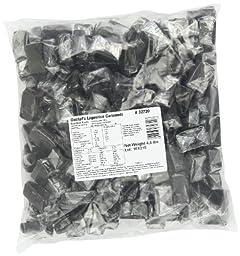 Gustaf\'s Dutch Licorice, Caramels, 4.4-Pound Bag