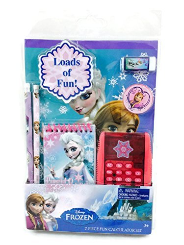 Disney Frozen School Supply Stationary 7 pc Set