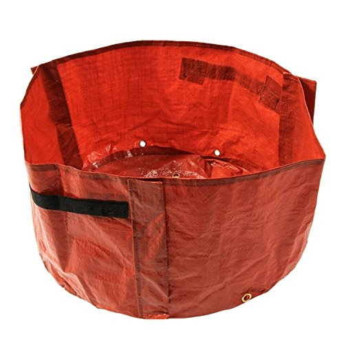 Red Balcony Vegetable Planting Bag Garden Bags With Handle (10 Gallon Plastic Flower Pots compare prices)