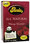 Panda Licorice Chews 8212 Cherry Flavor 7-Ounce Pack of 6