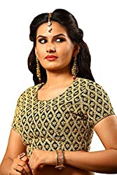 Melluha Georgette Stitched Customizable Blouse with Santoon Inner