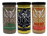 Stone Brewing Co. Mustard Box of 3