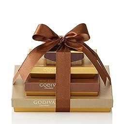 Godiva Chocolatier Sweet Surprise Gift Tower, 46 Count