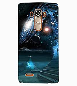 ColourCraft The Galaxy Design Back Case Cover for LG G4