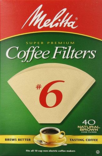 Melitta 6 Cone (PA6-40 NB)-Filter Paper
