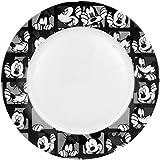Disney Mickey Grid Dinner Plate, Set of 4