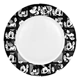 Disney Mickey Grid Dinner Plate, Set of 4