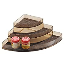 InterDesign Twillo Stadium Corner Spice Rack, Multi-Colour