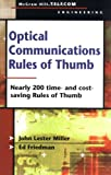 img - for Optical Communications Rules of Thumb book / textbook / text book