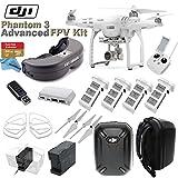 DJI-Phantom-3-Advanced-Quadcopter-Drone-Bundle-with-FATSHARK-Predator-V2-eDig-FPV-Package