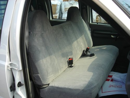 F236 C8..Durafit Seat Covers Charcoal Ford F250-F550 Truck Front Solid Bench Seat Exact Fit Custom Seat Covers Gray Endura F236-C8 - (F250 Front Seat Covers compare prices)