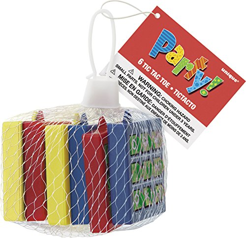 Tic-Tac-Toe Party Favors, 6ct