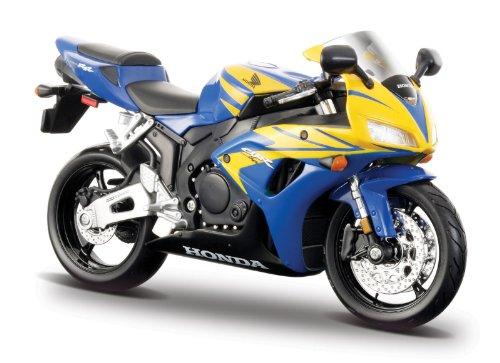 Imagen principal de 2008 Honda CBR 1000RR [Maisto 31151], Azul/Amarillo, 1:12 Die Cast