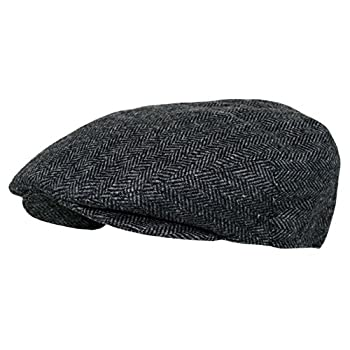 Men's Premium Wool Blend Classic Flat Ivy Newsboy Collection Hat