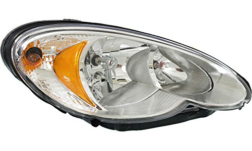 Evan-Fischer EVA13572020150 New Direct Fit Headlight Head Lamp for PT CRUISER 06-10 RH Assembly Halogen Code LME With Bulb(s) Passenger Side Replaces Partslink# CH2503164 (Headlight Assembly Pt Cruiser compare prices)