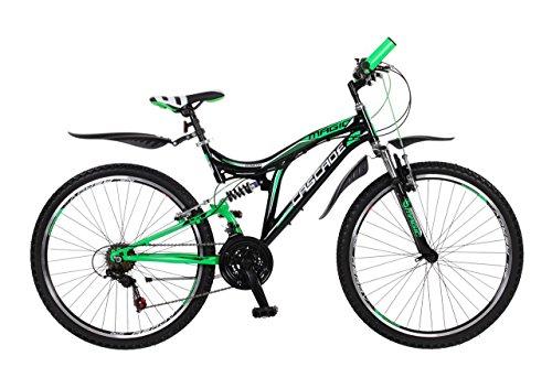 26-Zoll-Kinderfahrrad-Mountainbike-Fahrrad-Vollgefedert-Jugendfahrrad-Kinderrad-Rad-Shimano-18-Gang-X-TREME