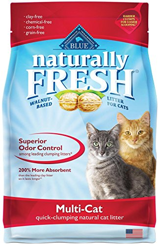 Blue Naturally Fresh Multi-Cat Clumping Cat Litter 14-lb bag