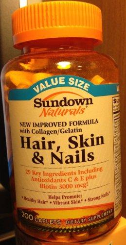 Sundown Vitamines cheveux, peau et des ongles