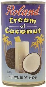 Roland cream of coconut, 15-oz. can