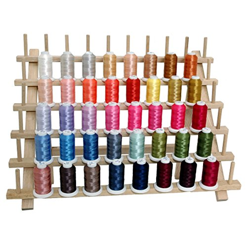 Thread set for brother embroidery machine craft art