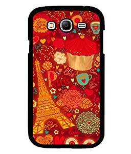 printtech Paris Chocolate Gift Back Case Cover for Samsung Galaxy Grand 2 G7102::Samsung Galaxy Grand 2 G7106