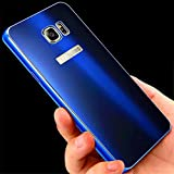 Note 5 Case, Galaxy Note 5 Case, ArtMine Luxury Aluminum Metal Bumper Shockproof Protective Snap on Hard Back Case Cover for Samsung Galaxy Note 5 (Royal Blue)
