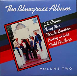 BLUEGRASS ALBUM BAND - vol 2 ROUNDER 0164 (LP vinyl record)