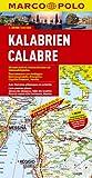 Calabria Marco Polo Map (Marco Polo Maps)
