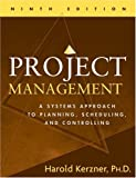 Project management:a systems approach to planning- scheduling- and controlling