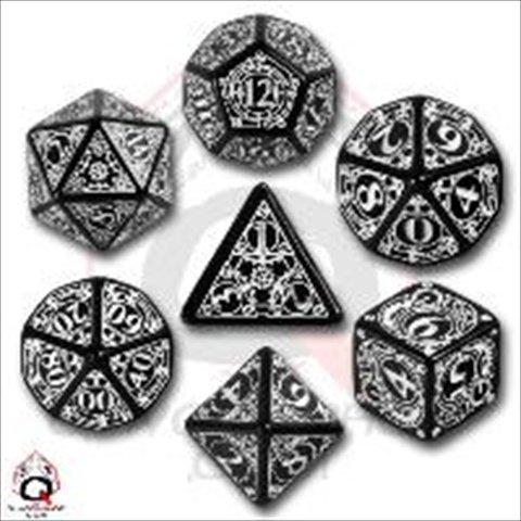 Steampunk Dice Black/White (7 Stk.) Board Game (Cool Dice compare prices)