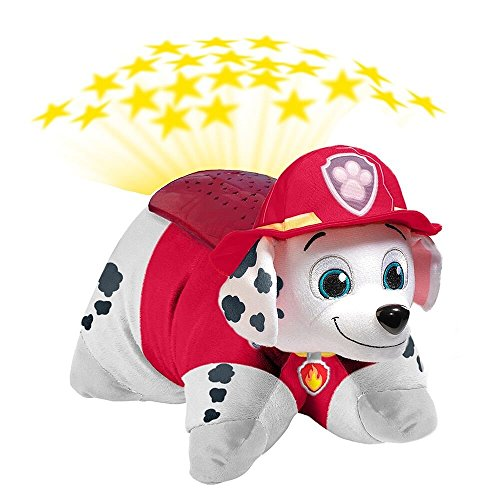 Nickelodeon Paw Patrol Pillow Pets Dream Lites - Marshall Stuffed Animal Plush Toy - 516E 2BQhOo1L - Nickelodeon Paw Patrol Pillow Pets  – Marshall Dream Lites Stuffed Animal Night Light
