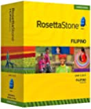 Rosetta Stone Homeschool Filipino (Tagalog) Level 1-3 Set including Audio Companion