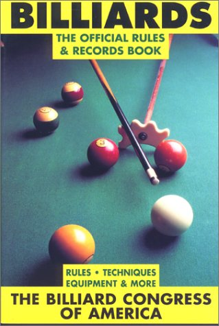 Image for Billiards: The Official Rules and Records Book